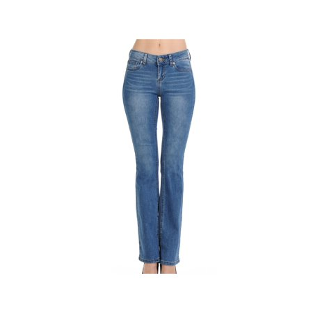 Classic 5 Pockets Premium Denim, Bootleg Bootcut (Zoe Bootleg Jeans)