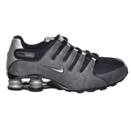b0abf35ff752 Nike - Nike Shox NZ SI Plus(GS) Big Kid s Shoes Black Metallic Silver-Dark  Grey 317929-029 - Walmart.com
