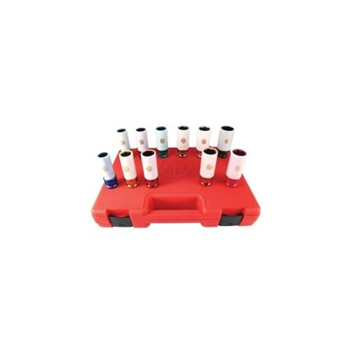 """Chicago Pneumatic SS4211WP 11 Piece 1 2"""" Drive Metric And Sae Wheel Nut Protector Impact... by Chicago Pneumatic"""