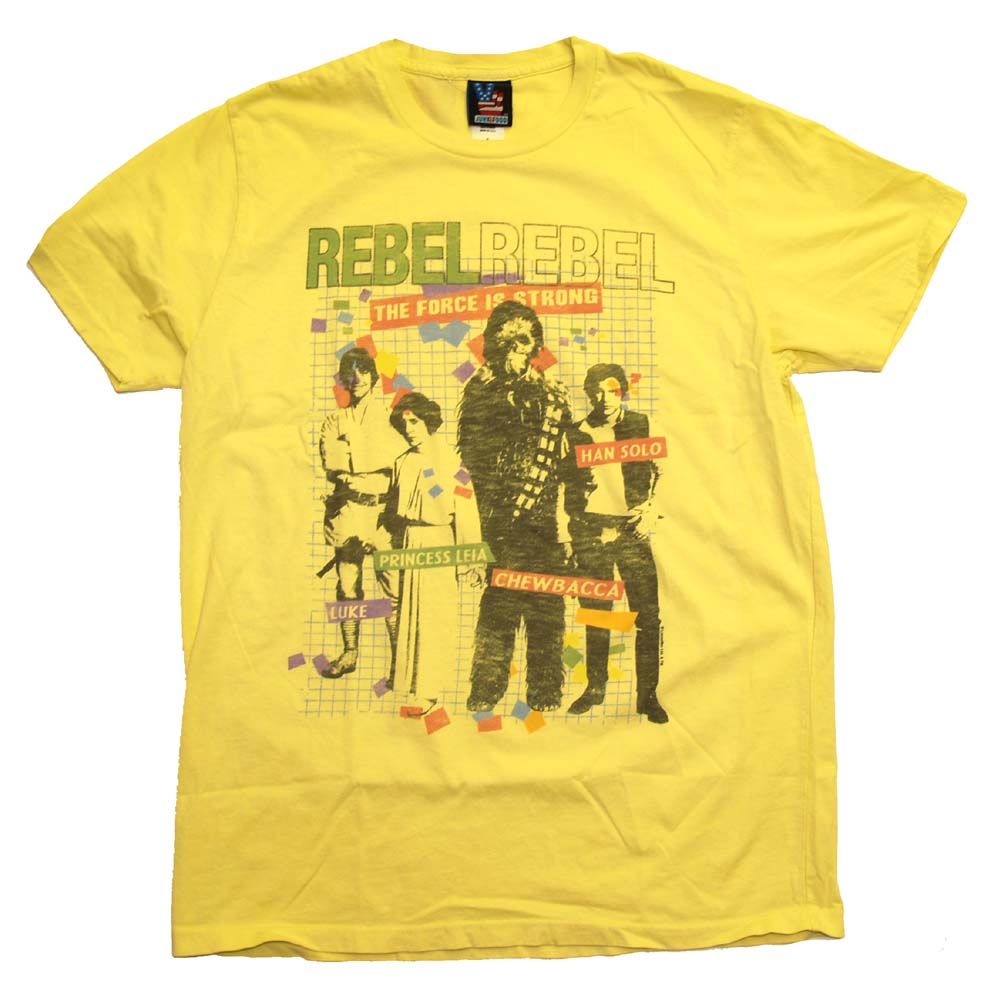Star Wars Rebel Alliance Force With You Princess Leia Vintage Style Soft T-Shirt
