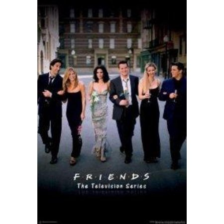 Friends Group Television Series TV Show Poster 24x36