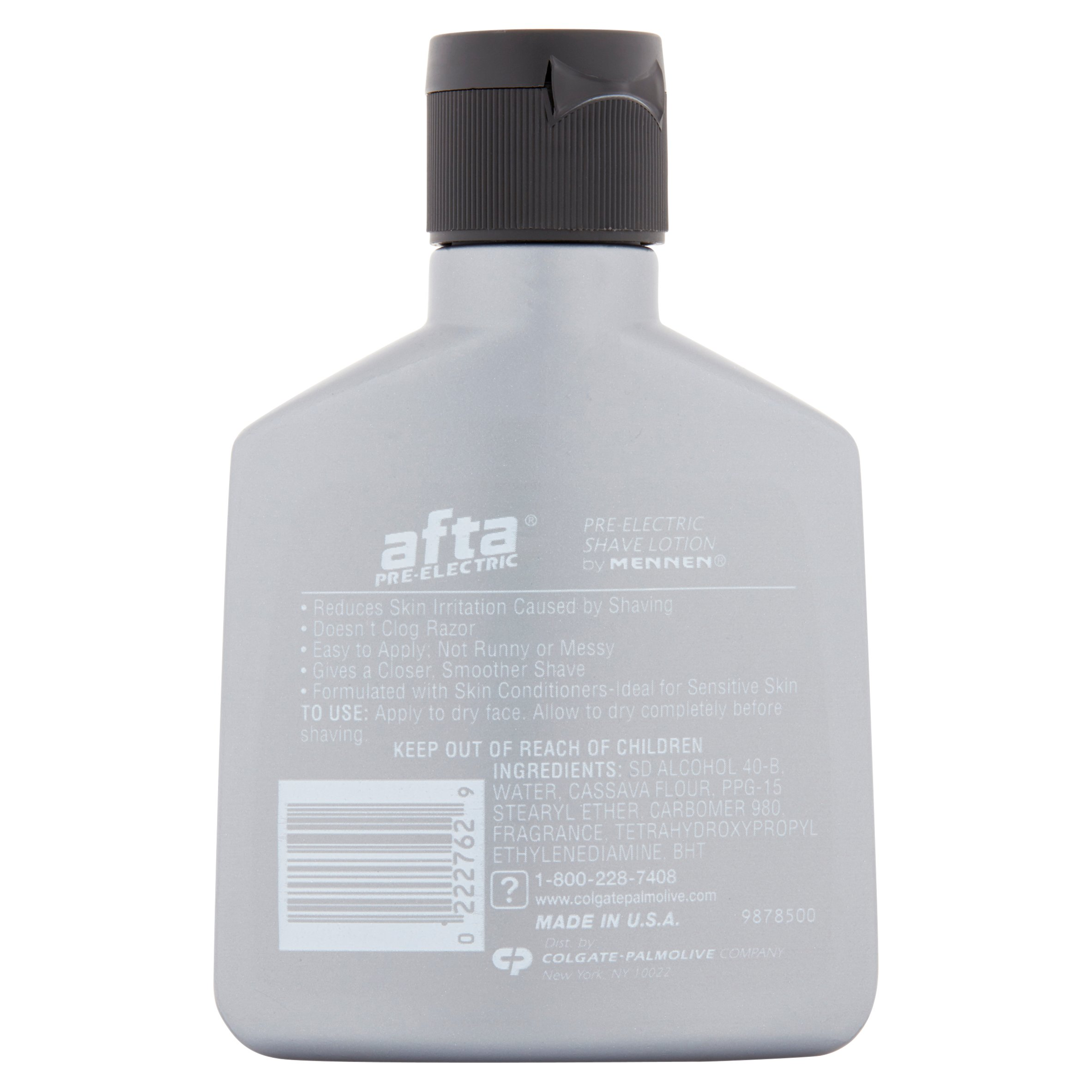 Afta Pre Electric After Shave Lotion With Skin Conditioners 3 Oz