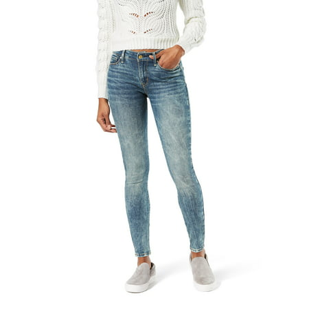 Signature by Levi Strauss & Co. Women's Modern Skinny Heritage (Best Levis For Skinny Guys)