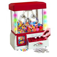Electronic Claw Toy Grabber Machine With LED Lights