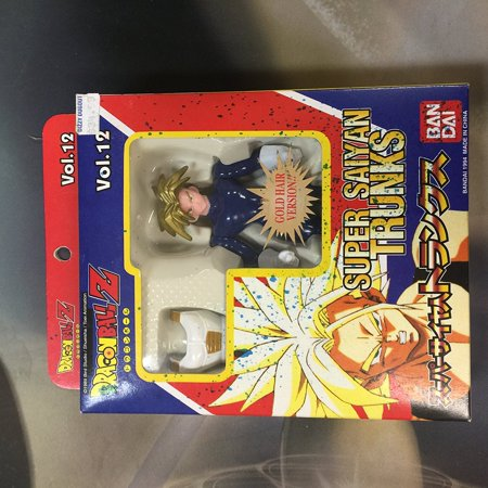 Dragonball Z Bandai Japanese Action Figure Vol. 12 Super Saiyan Trunks By Super Battle Collection From USA