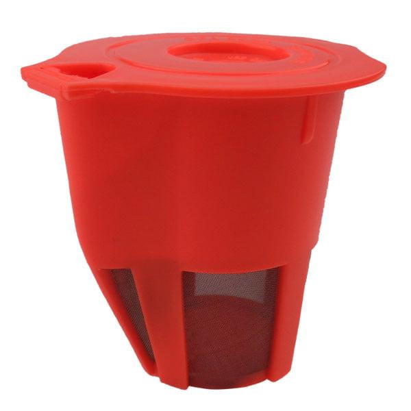 Reusable Coffee Filter, Orange Refillable Economic K Carafe, 1 Count