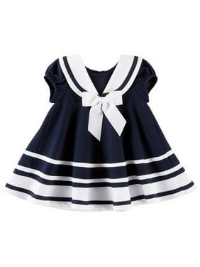b8783ceccf Product Image Bonnie Jean Baby Girls Striped Nautical Dress