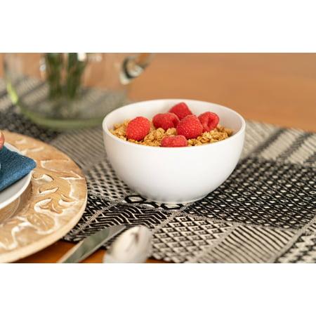 10 Strawberry Street Wazee Matte Cereal Bowl, Set of 6