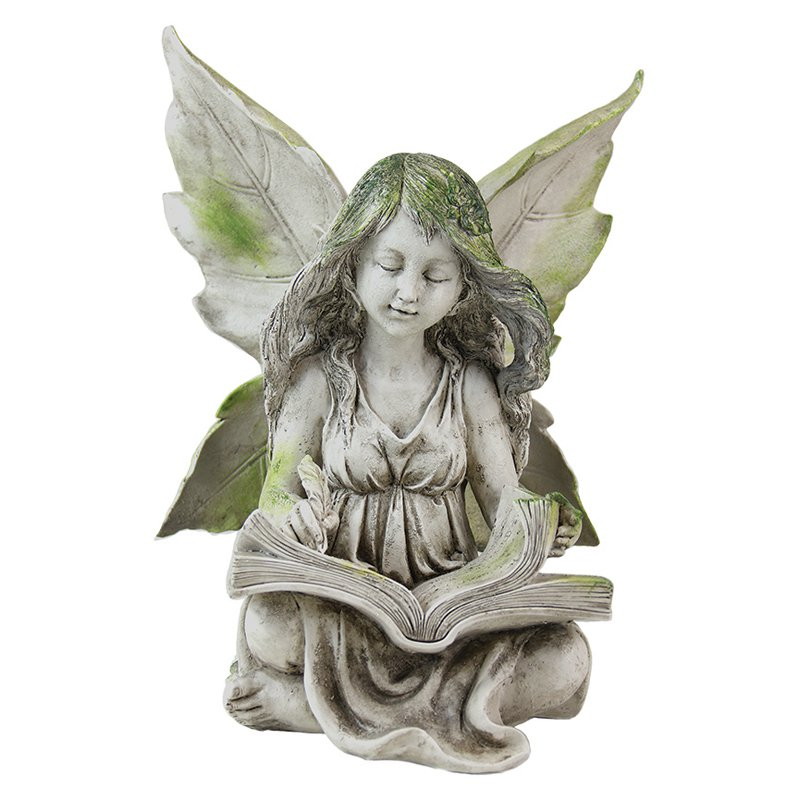 Exhart Reading Fairy Garden Statue Walmartcom