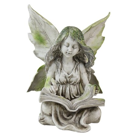 Exhart reading fairy garden statue Reading fairy garden statue