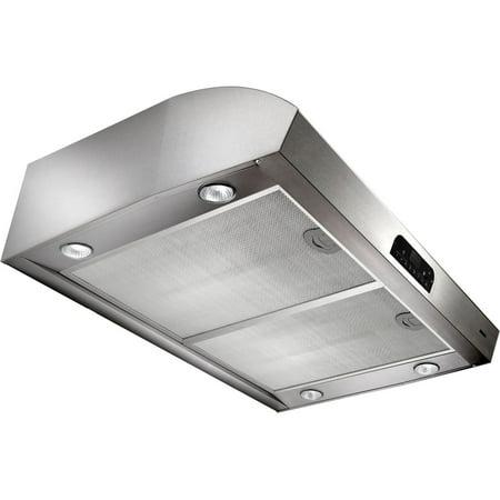 Evolution 3 (QP3) Series 42 In. 4-Way Convertible Under Cabinet Range Hood - Stainless Steel