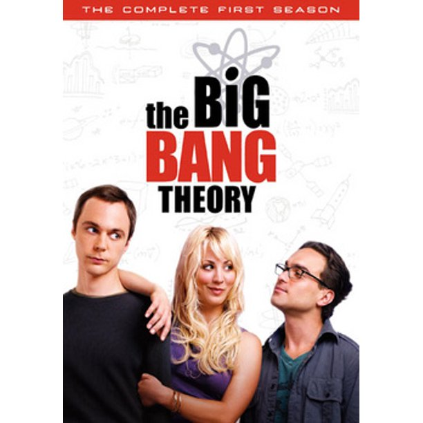 The Big Bang Theory The Complete First Season Dvd Walmart Com Walmart Com
