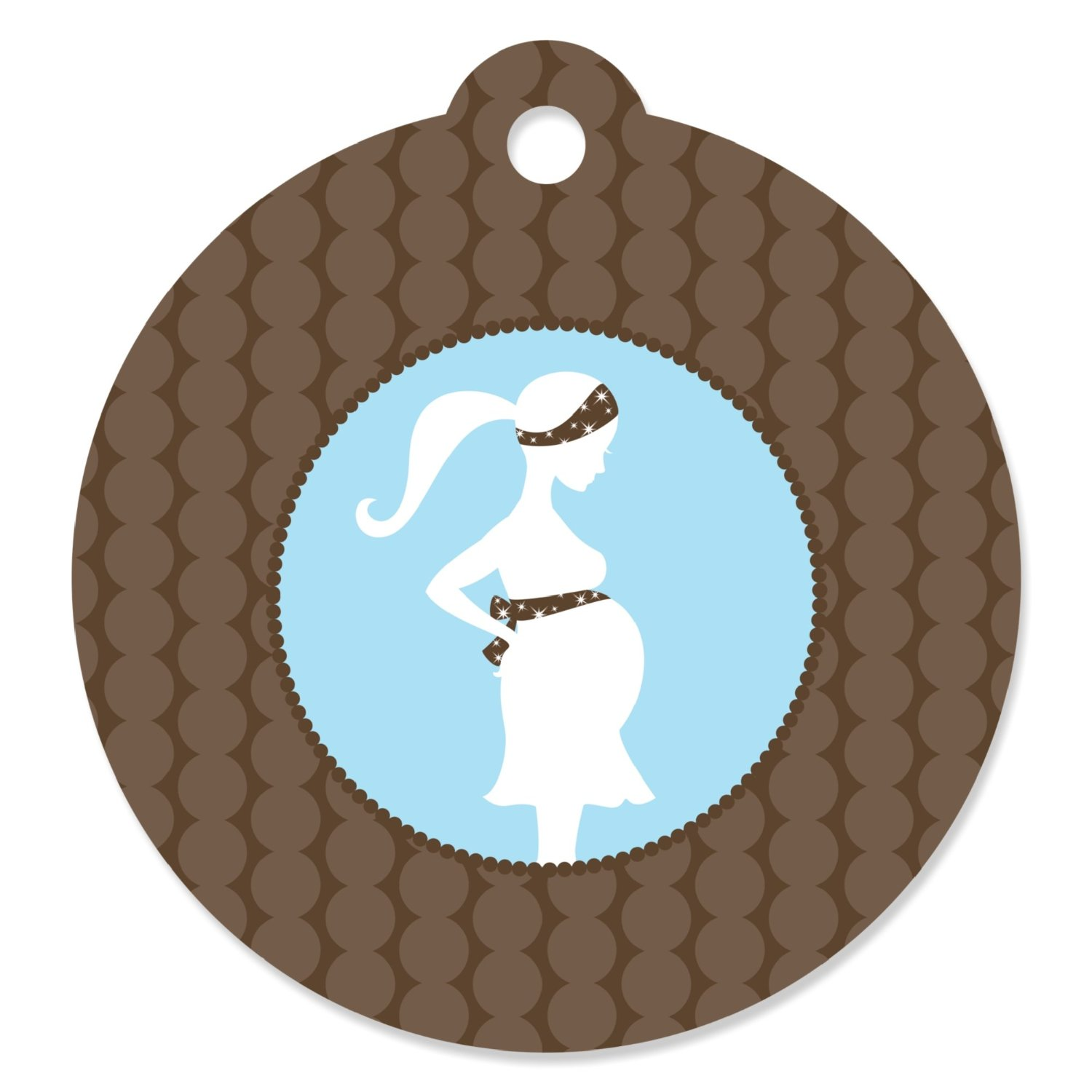 Mommy To Be Silhouette It S A Boy Baby Shower Party Favor Gift