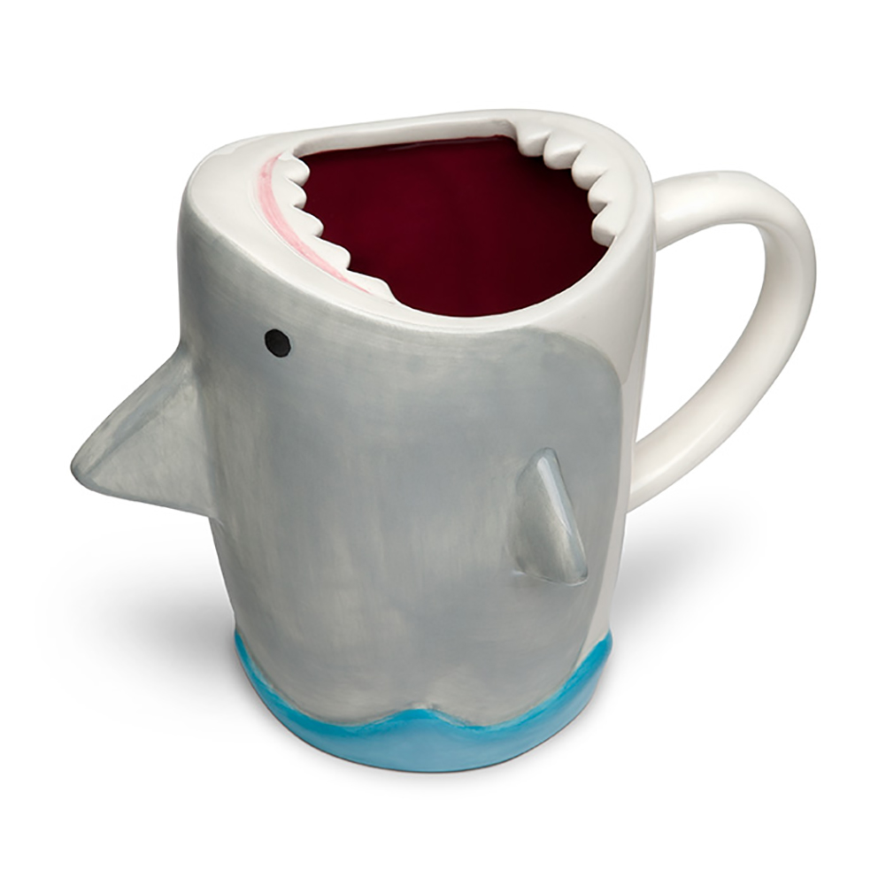 Shark Attack 12oz Molded Ceramic Mug