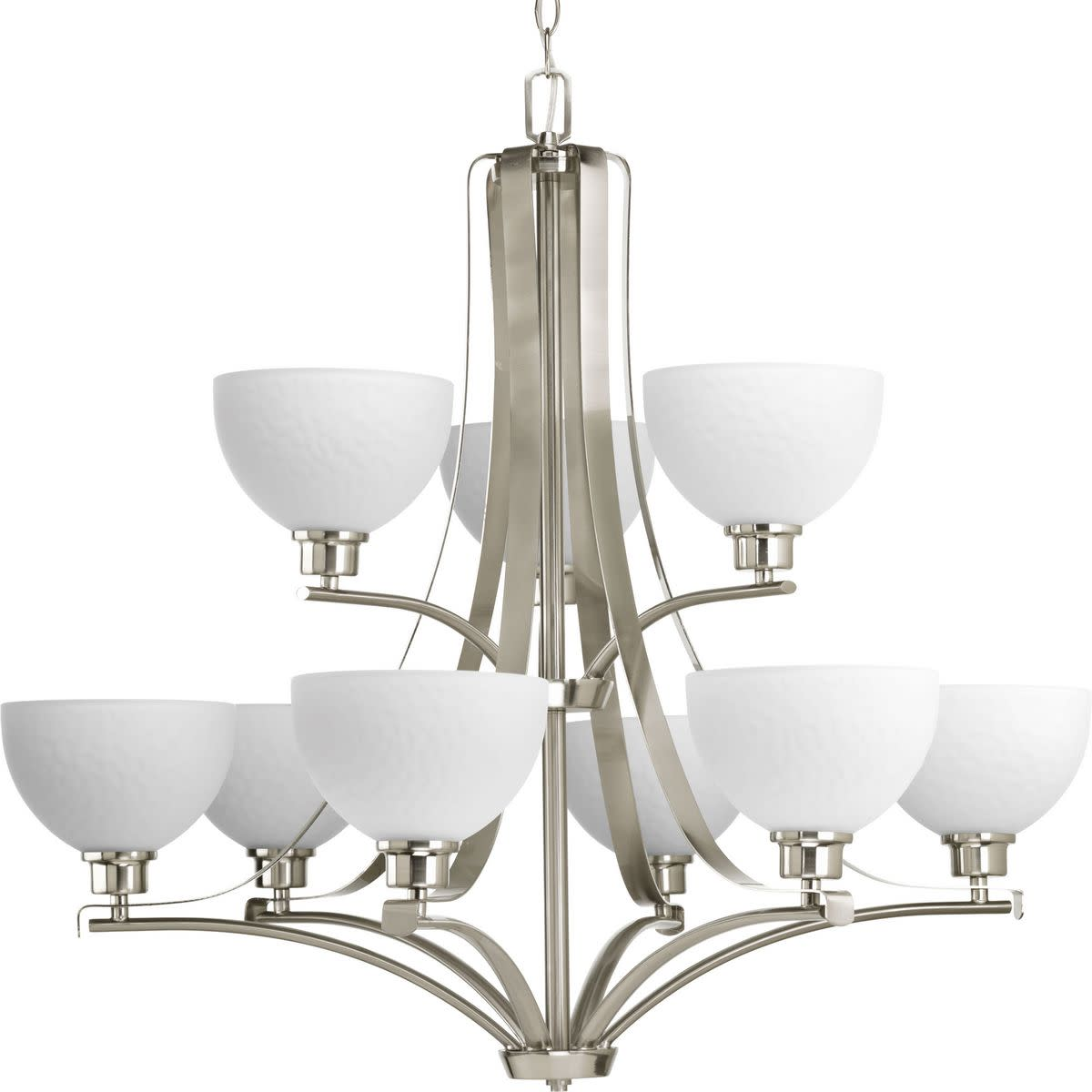 Legend Collection Nine-Light, Two-Tier Chandelier