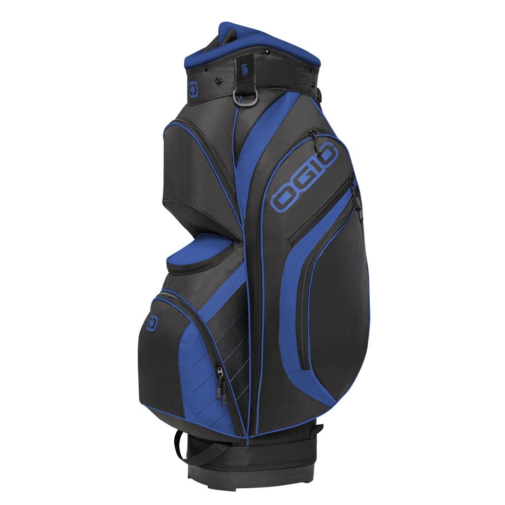 New Ogio Press Golf Cart Bag 8 Way Top 9 Pockets Fleece L...
