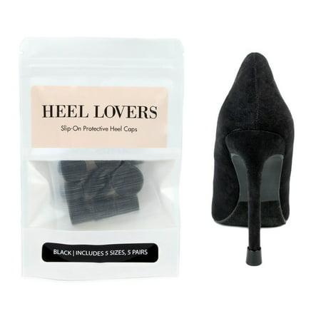Heel Lovers Protective Heel Caps by FootFitter - High Heel Tip Covers for Women! -