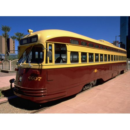 Old Fashioned Bus, Phoenix, AZ Print Wall Art By James