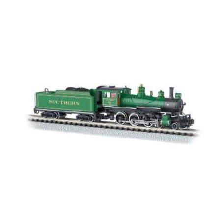 Bachmann Industries #1012 Baldwin 4-6-0 Steam Locomotive and Tender DCC Equipped Southern Train Car