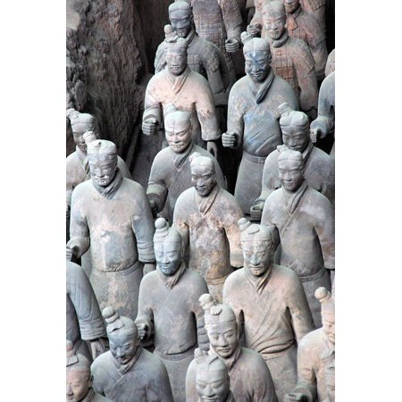 Antique Cheese - LAMINATED POSTER China Terracotta Army Antique Xian Soldier Poster Print 24 x 36