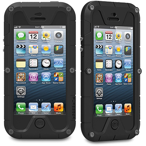 PureGear PX260 Weatherproof Extreme Protection System for iPhone 5/5s, Black