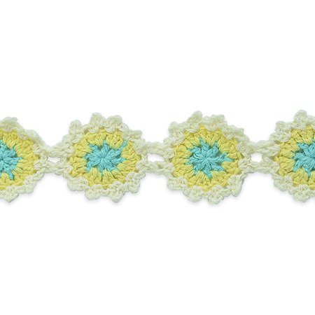 Expo Int'l 2 yards of Crochet Flower Trim