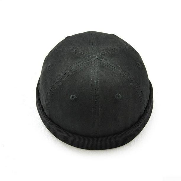 Men Skullcap Hat Cap Docker Mechanic Biker Beanie Brimless Adjust Hot