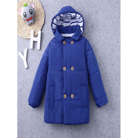 ea7579742be6 Winter Kid Baby Boy Girl Hooded Jacket Chidren Warm Thick Coat ...