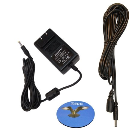 Extension Cable Kit - HQRP KIT: 5V AC Adapter w/ 10ft DC Extension Cable for Foscam FI8907W FI8916W FI9820W FI9804W FI9831W FI9826W FI8905E IP / Network Camera, 1.35mm / 3.5mm Male Female Power Cord + HQRP Coaster