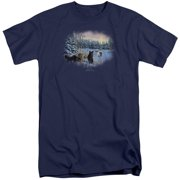 Wildlife Hunter's Moon The Spoils Mens Big and Tall Shirt