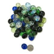Multi Color Aquarium Glass(Button Shape) Decoration, DG-20