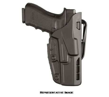 Safariland 7377 7TS ALS Belt Slide Concealment Holster, Glock 17, 22, Plain Blac by