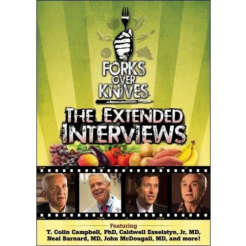 FORKS OVER KNIVES-EXTENDED INTERVIEWS (DVD)