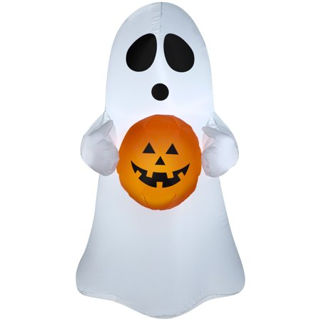 Airblown Inflatable-Spooky Ghost 3.5ft tall by Gemmy Industries - Gemmy Halloween Doorbell
