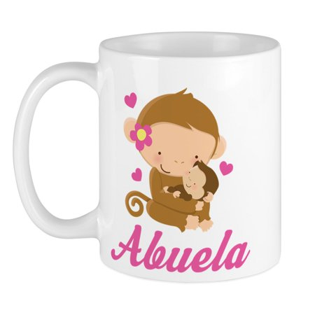 (CafePress - Abuela Monkeys Gift Mug - Unique Coffee Mug, Coffee Cup CafePress)