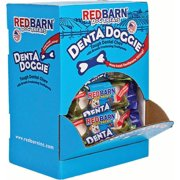 Redbarn Pet Products Inc-Denta Doggie Tough Dental Chew With Toothpaste- Minty Fresh 2.5 Oz/20 Count