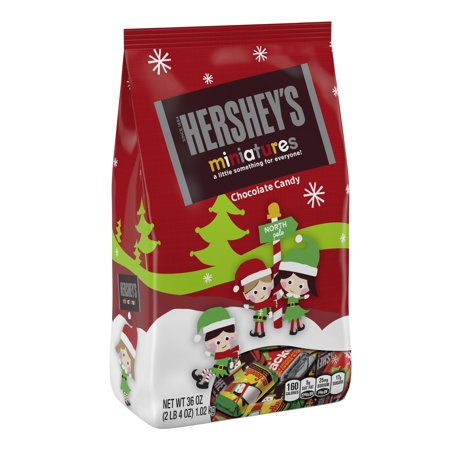 Hershey's, Holiday Miniatures Chocolate Candy, 36 Oz.