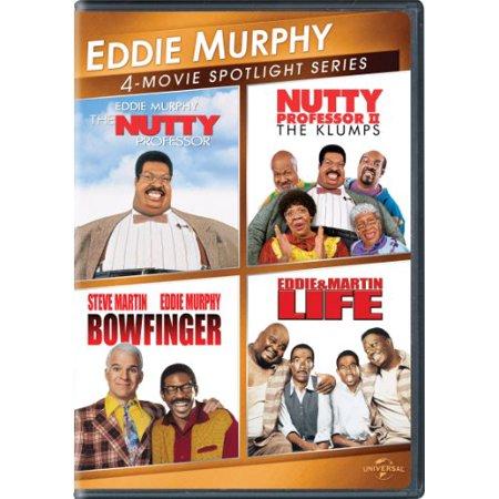 Universal Eddie Murphy 4 Movie Spotlight Series  Dvd   2Discs