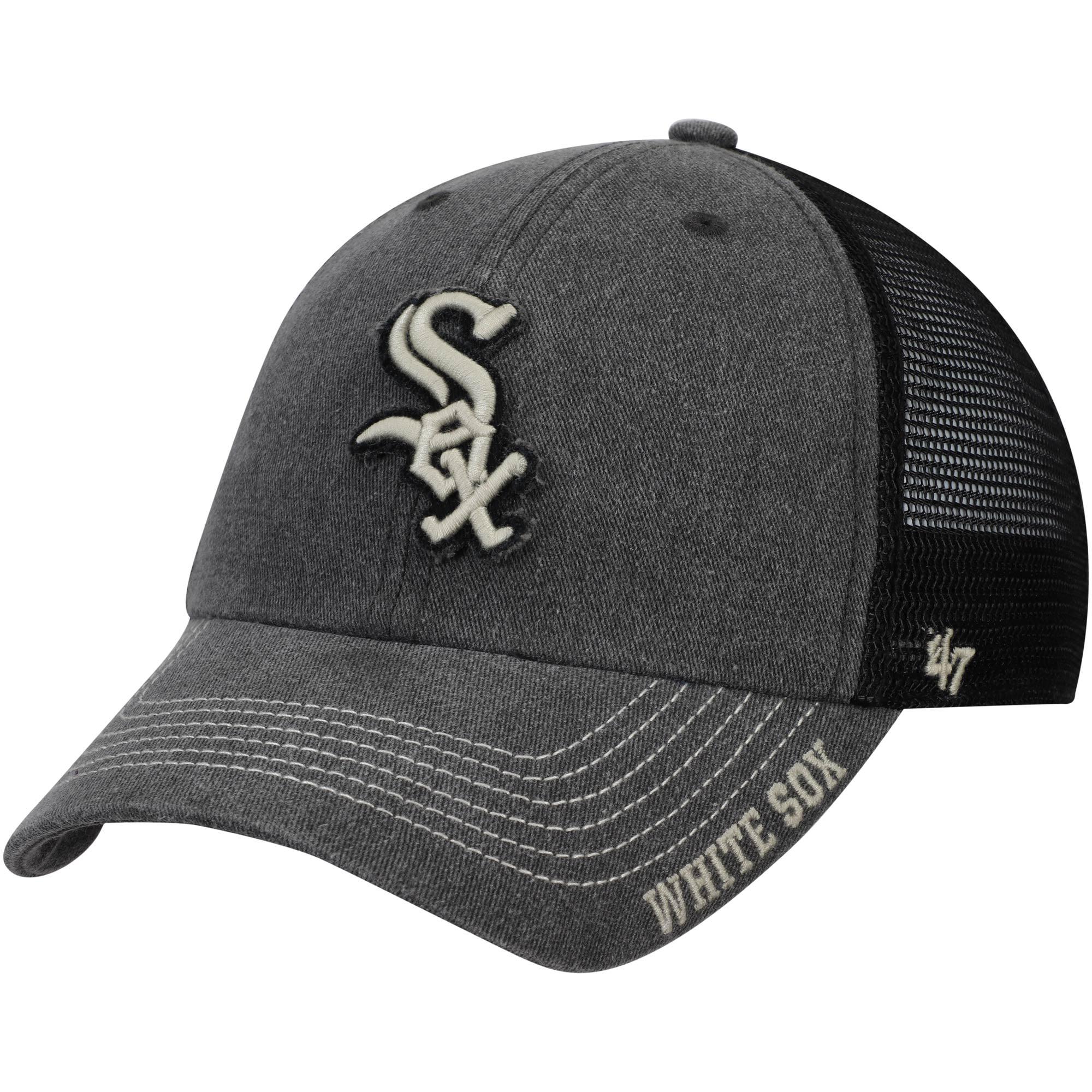 Chicago White Sox '47 Burnstead Clean Up Trucker Adjustable Hat - Black - OSFA