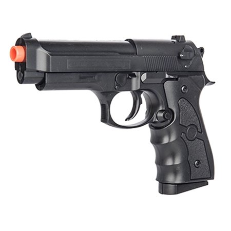 - G52B SPRING POWERED TACTICAL AIRSOFT PISTOL W/ 6MM BBS + DETACHABLE MAGAZINE