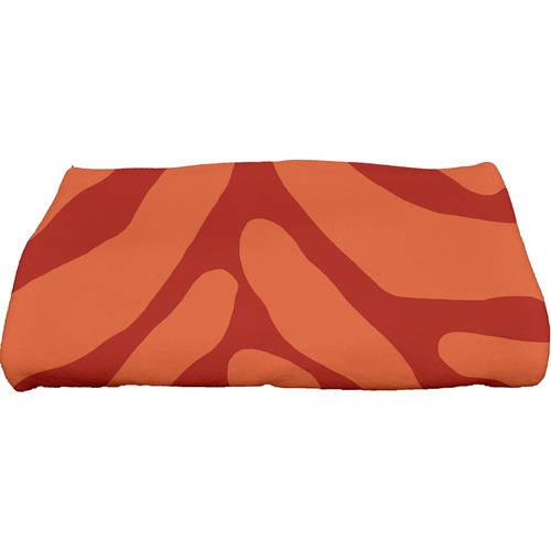 "Simply Daisy 28"" x 58"" Animal Stripe Geometric Print Bath Towel by E By Design"