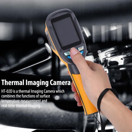 EOTVIA Infrared Camera, Thermographic Camera,HT-02D Handheld IR Thermal Imaging Camera Color Display 1024p 32x32 Resolution Thermal (Best Thermal Imaging Camera)