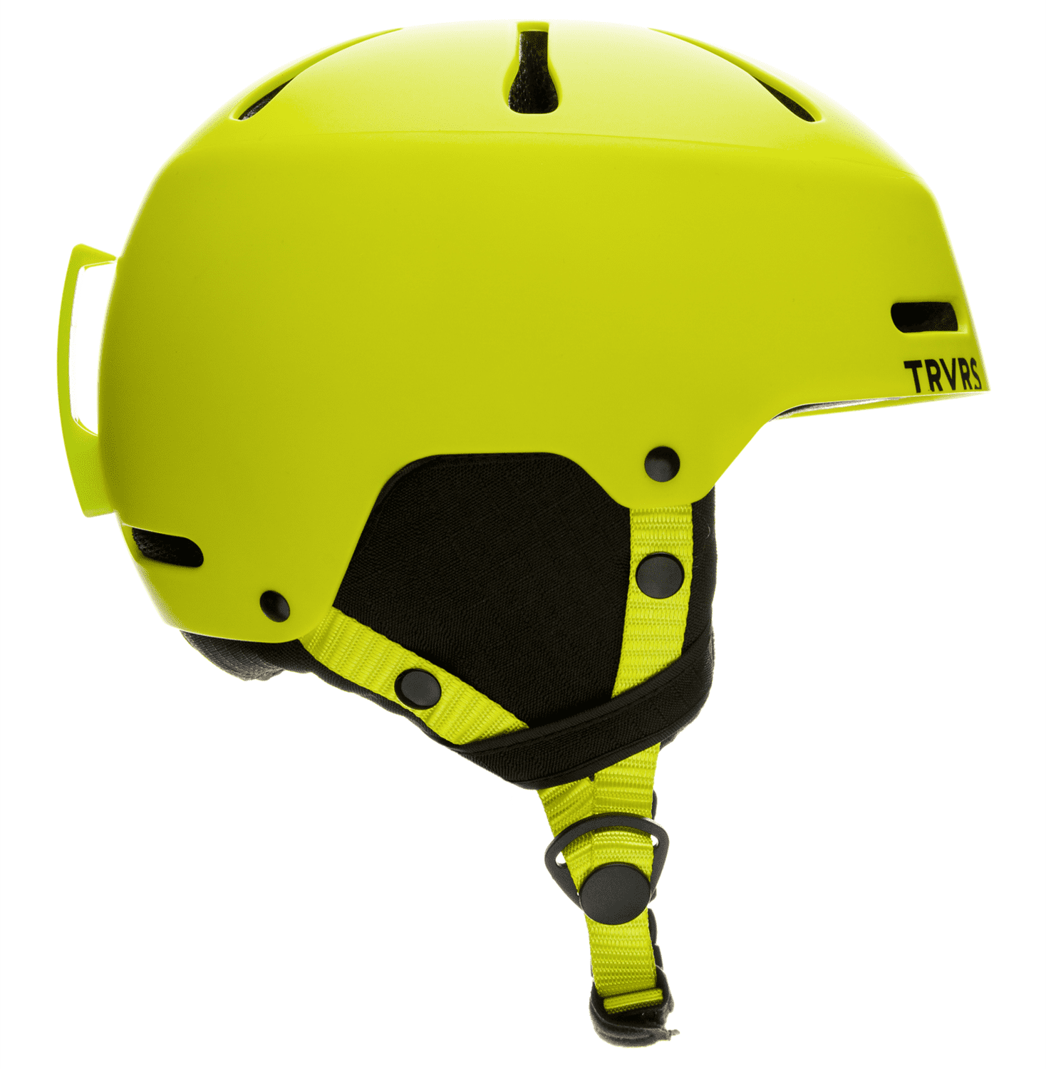 Traverse Sparrow Youth Ski, Snowboard, and Snowmobile Helmet, Matte Lime, Small (52-55cm) by Traverse