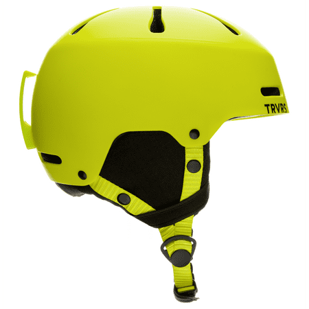 Traverse Sparrow Youth Ski, Snowboard, and Snowmobile Helmet, Matte Lime, Small (52-55cm)
