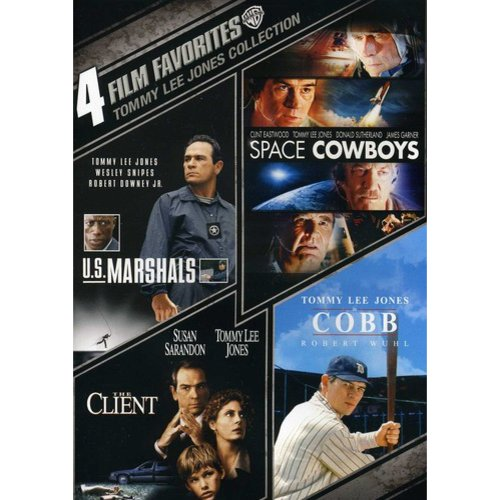 4 Film Favorites: Tommy Lee Jones Collection - U.S. Marshalls / Space Cowboys / The Client / Cobb