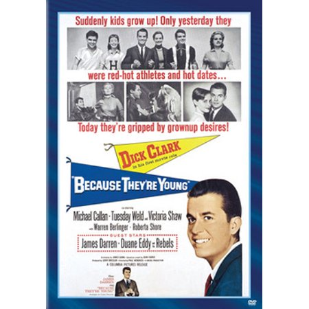 Because They're Young (DVD) (Clark Coolidge)