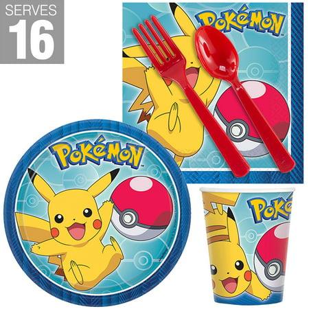 Pokemon Core Snack Pack for 16 - Pokemon Birthday Supplies