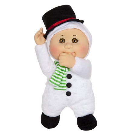 Cabbage Patch Kids 9 Inch Collectible Holiday Helpers Softbody Cuties Doll, Rudy Snowman ()