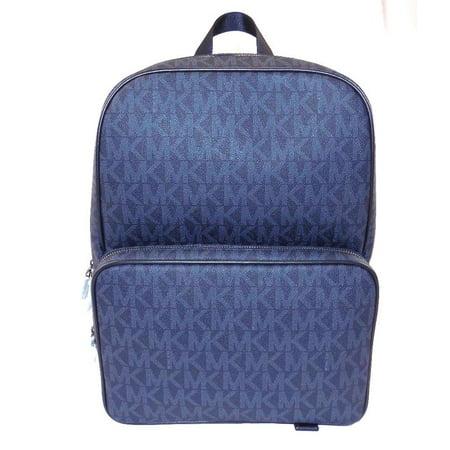 20006853b436 Michael Kors - NEW MENS MICHAEL KORS JET SET LARGE SIGNATURE BALTIC BLUE  BACKPACK BOOK BAG BAG - Walmart.com
