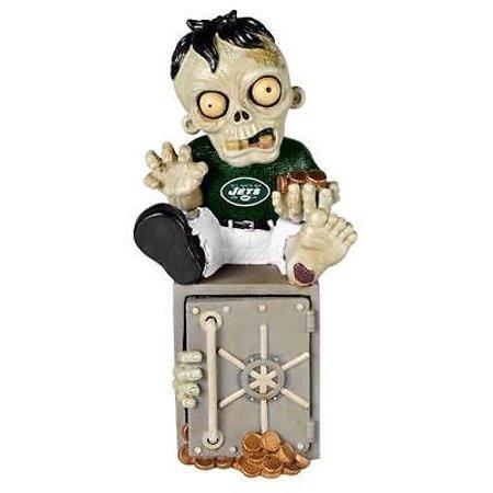 New York Jets Zombie Figurine Bank